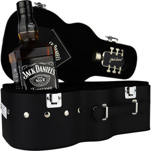 Jack Daniels Guitar Case Gift Pack 70cl