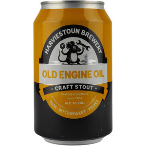 Harviestoun Old Engine Oil Blik