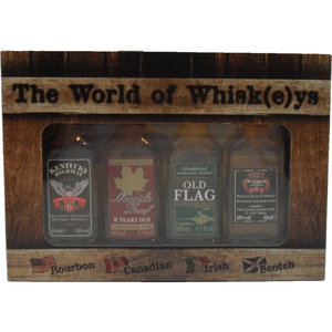 The World Of Whiskeys Cadeaupakket