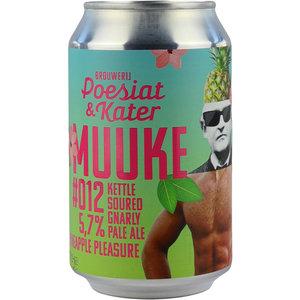 Poesiat & Kater Muuke #012 Kettle Soured Gnarly Pineapple Pleasure Blik