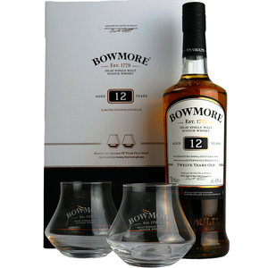 Bowmore 12 Years Limited Edition Giftpack 70cl