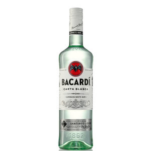 Bacardi Carta Blanca Superior 35cl