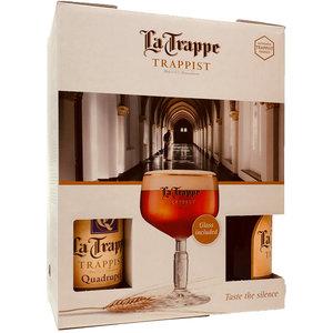 Bierpakket La Trappe met Glas