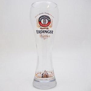 Erdinger Weissbier glas Voetbal 50cl